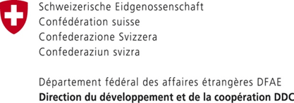 Swiss Agency for Development and Cooperation.